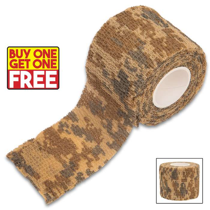 The wrap conceals, silences and protects gear, reduces glare, increases grip and provides padding and insulation for hands