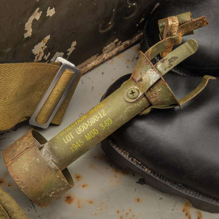 """Rifle Grenade Adapter M1A2 Model 369 - 1945 Replica Military Collectible- Length 6 1/2"""""""