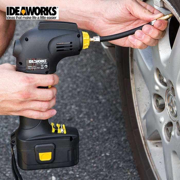 Cordless Rechargeable Tire Inflator
