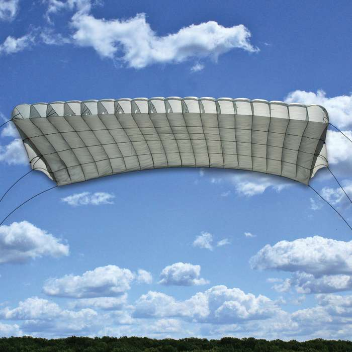 This military surplus German Paraglider is in excellent used condition and makes a great addition to your recreational or survival gear