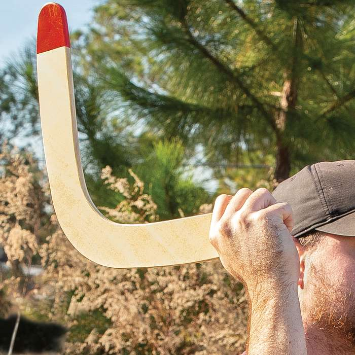 """Rothco Traditional Boomerang - All-Weather Wooden Construction, Family Fun - Dimensions 17 3/4""""x 7"""""""