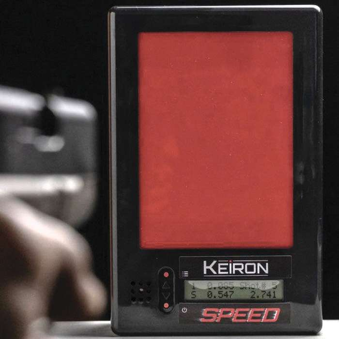 Keiron Speed Interactive Target - Standalone Training Target, No Computer Required, Five Modes, Red and Infrared Laser Reactive
