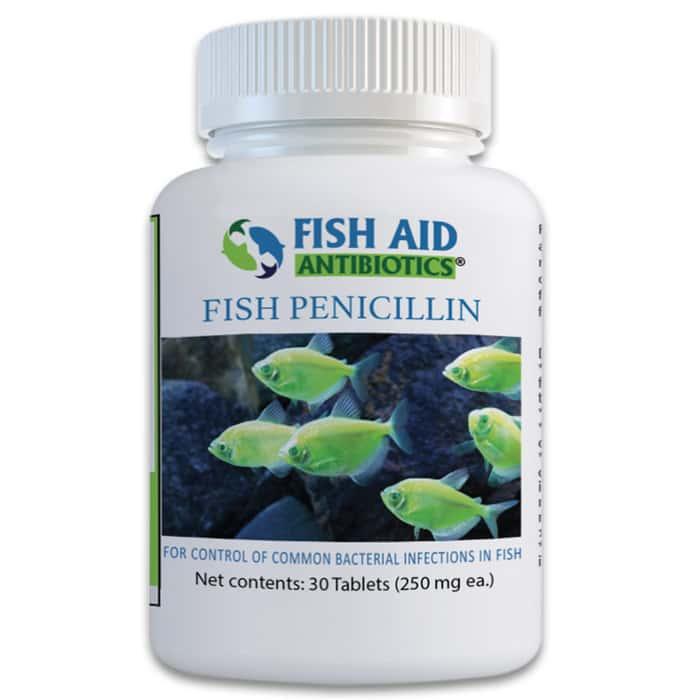 Fish Penicillin 250 Mg - 30-Count