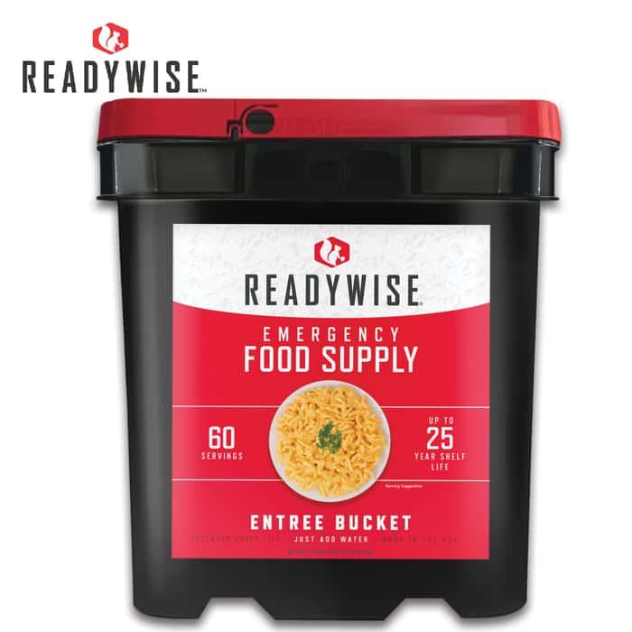 ReadyWise Grab-and-Go Gourmet Food Kit -  60 Servings