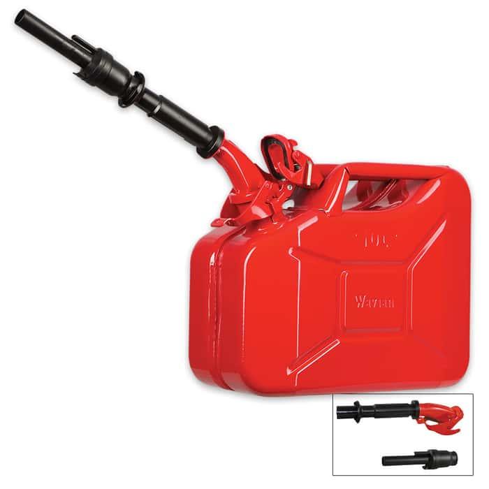 Wavian 10-Liter Fuel Can