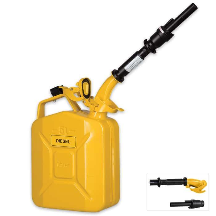 Wavian Five-Liter Fuel Can