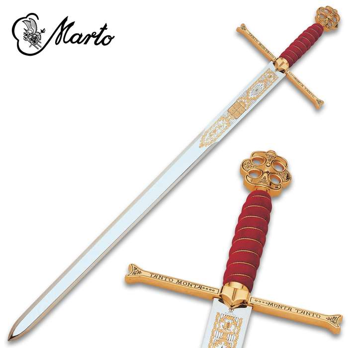 """This Catholic Kings Claymore Sword is a part of the exclusive collection, """"Historical, Fantastic and Legend Swords"""", made by MARTO"""