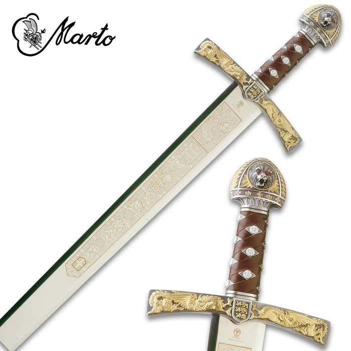 "This Sword of Richard the Lionheart is a part of the exclusive collection, ""Historical, Fantastic and Legend Swords"", made by MARTO"