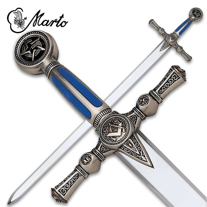 """This unique Sword of the Freemasons is a part of the exclusive collection, """"Historical, Fantastic and Legend Swords"""", made by MARTO"""