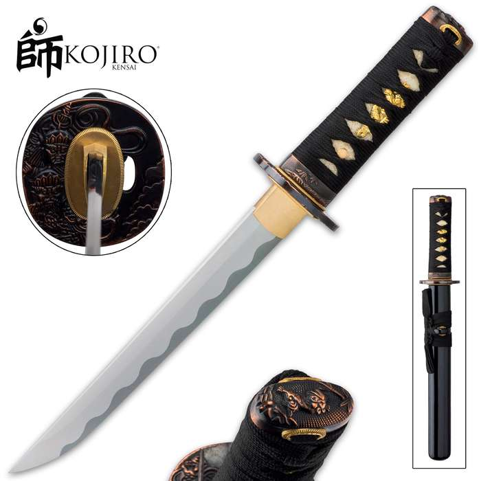 Crafted with supreme Samurai style, it's ready to be the ultimate back-up weapon to the legendary katana