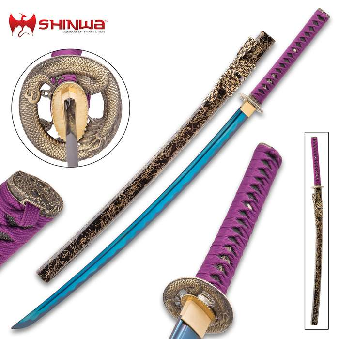 Shinwa Noble Midnight Samurai Sword