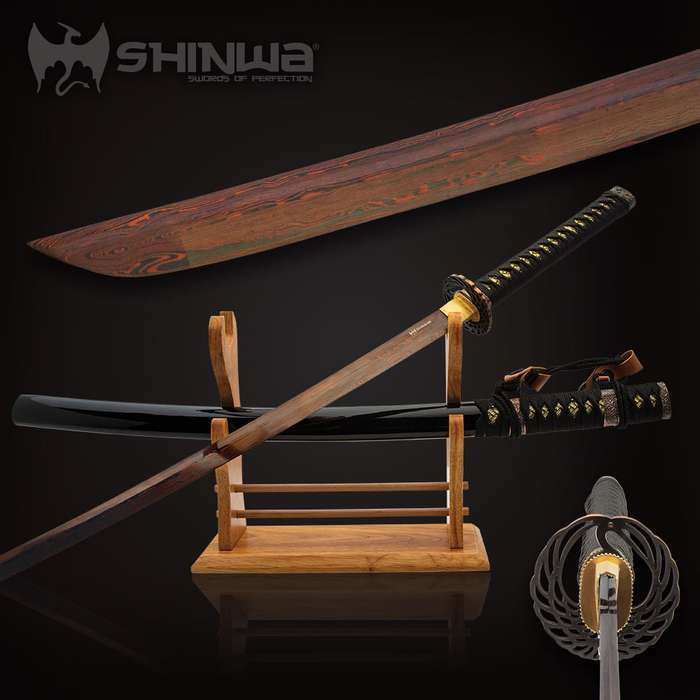 Unsurpassed quality is the standard for all Shinwa swords, and this masterpiece is definitely no exception to that standard
