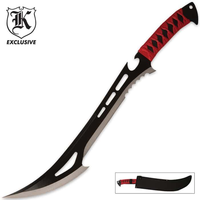 Red Guardian Fantasy Tactical Ninja Sword