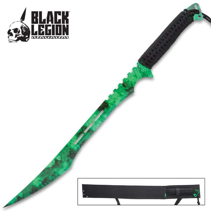 There's an Apocalypse brewing and the Poison Cloud Ninja Sword will put the power of zombie-fighting power right in your hand