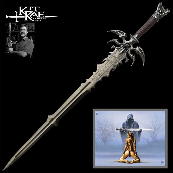 From the Swords of the Ancients collection, this is a dark version of the Kit Rae masterpiece, Vorthelok Sword