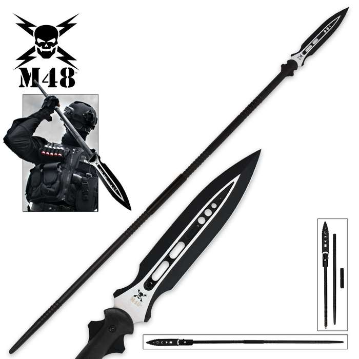 M48 Magnum Spear With Vortec Sheath
