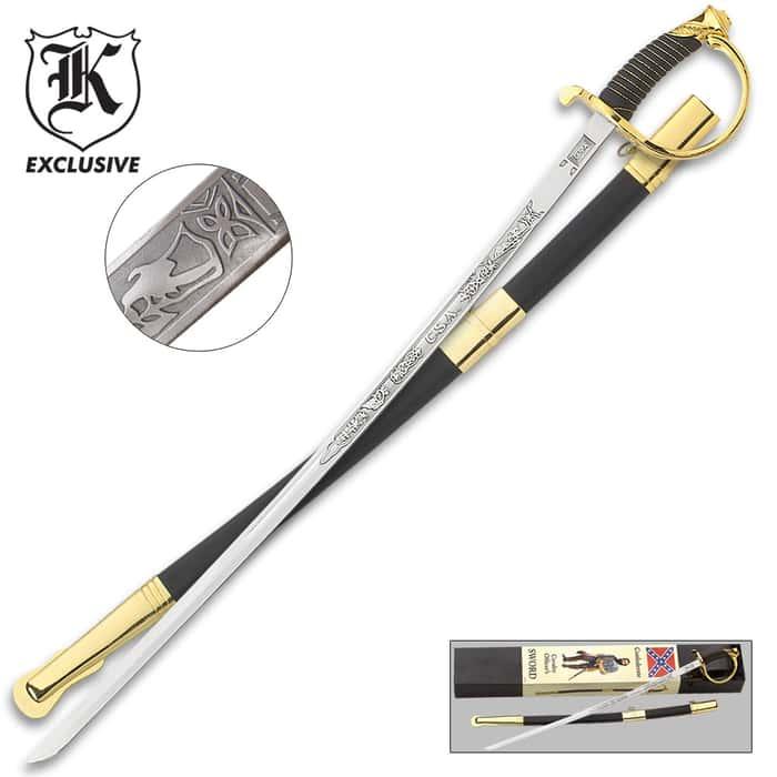 CSA Cavalry Saber Sword