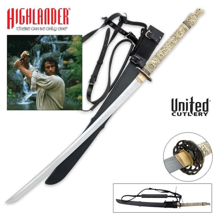 Highlander Duncan MacLeod Forged Katana Sword