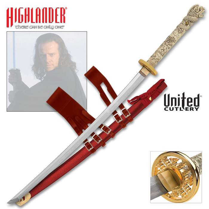 Highlander Connor MacLeod Forged Katana Sword