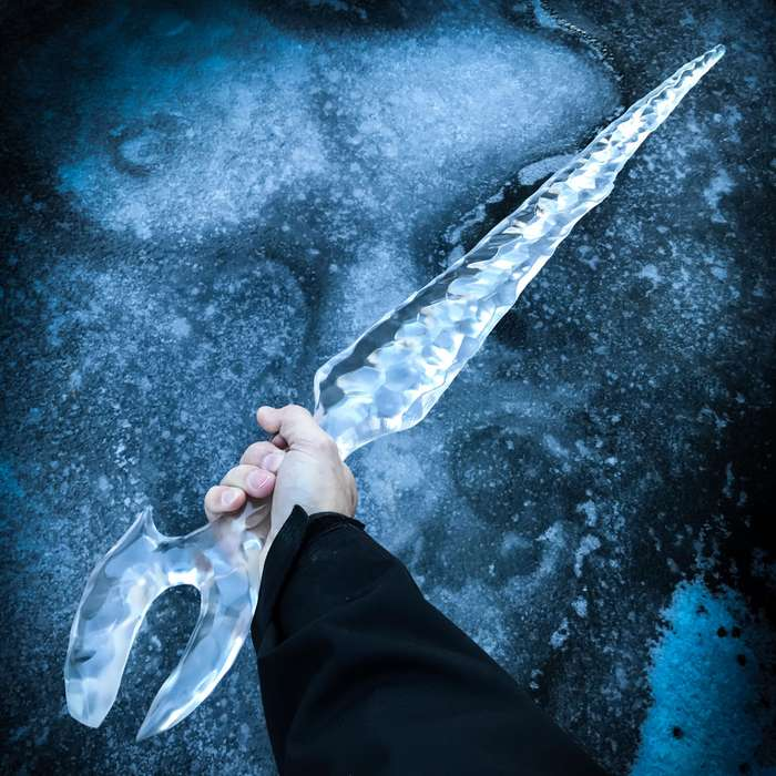 """Game Of Thrones White Walker Ice Blade - Officially Licensed Replica, Expertly Crafted Of Clear Acrylic - Length 41"""""""
