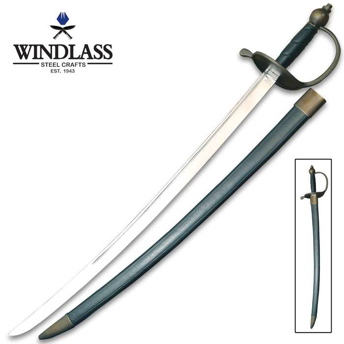 Your pirate captain's costume is incomplete without the Windlass Steelcrafts Pirate Captain's Sword and Scabbard
