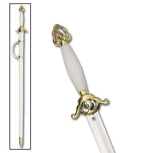 Classic White Tai Chi Sword