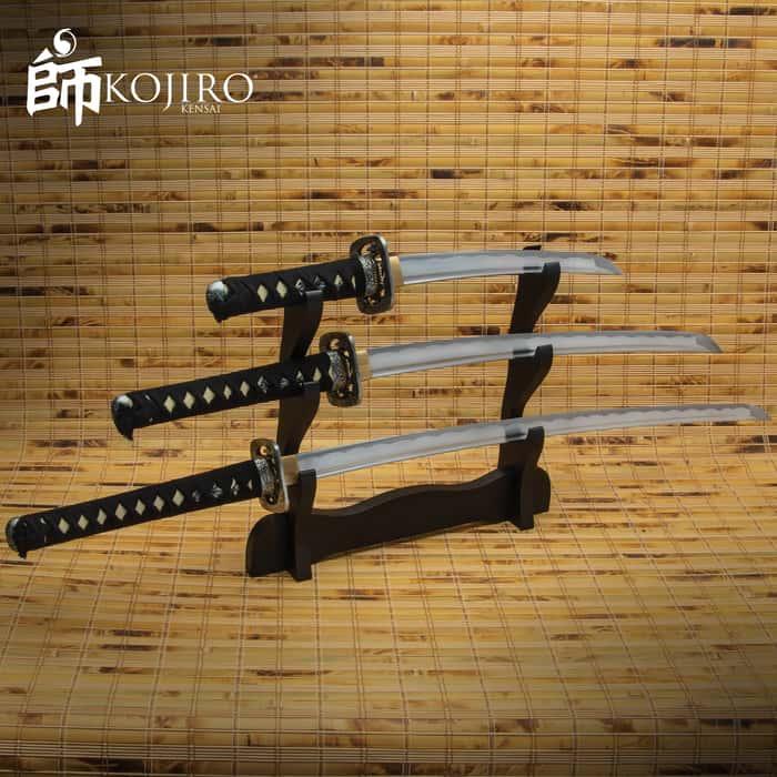 Blazing Warrior Samurai Sword Set