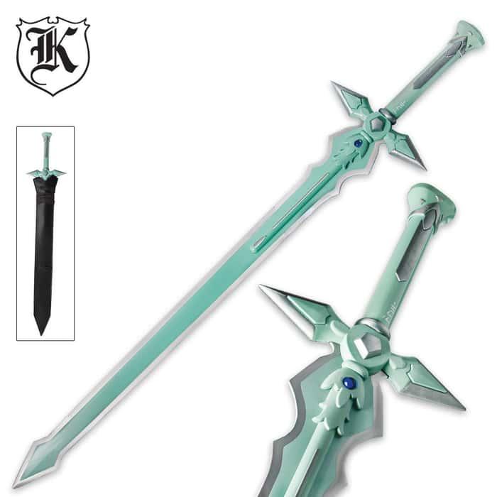 Anime Dark Night Sword With Sheath