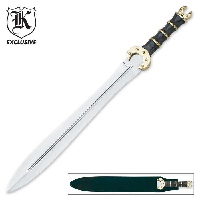 Full Size Celtic Dress Sword & Scabbard
