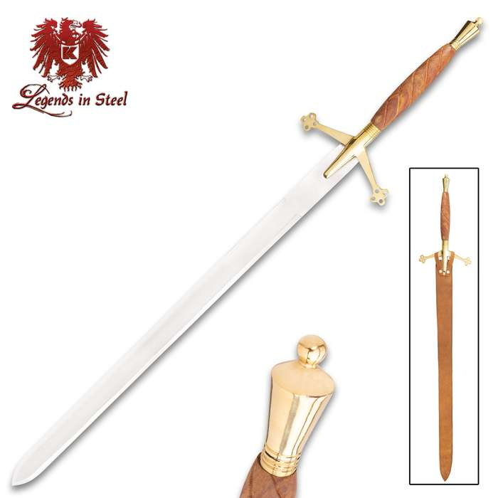 Legends In Steel Scottish Early Pattern Claymore Sword