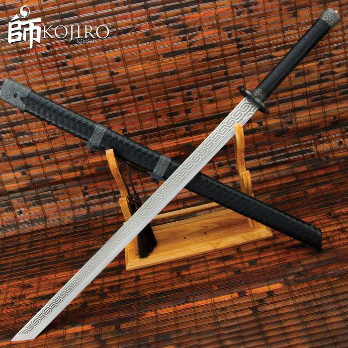 From the secret armory of the Blade Brotherhood, this impressive katana is a worthy weapon for the modern day Ninja