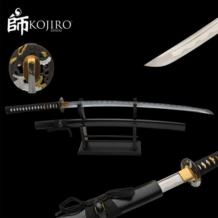 The mark of a Samurai was the formidable weapon that he carried that became a part of him for the rest of his life
