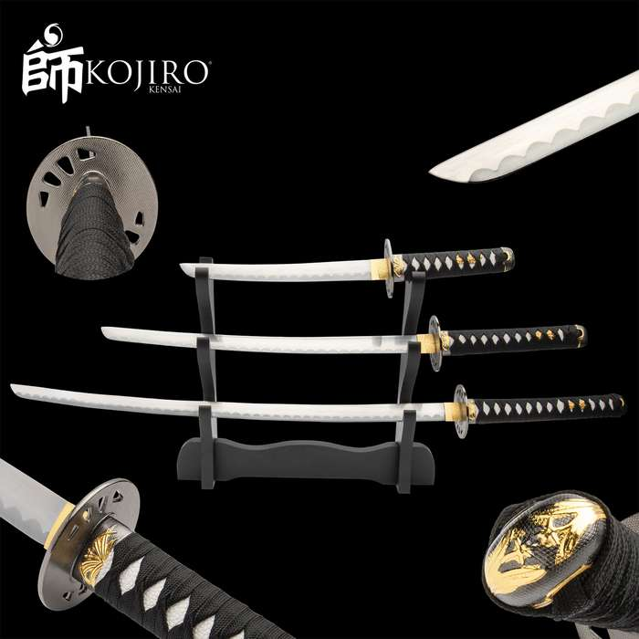 Specializing in Samurai katanas, Kojiro gives you quality and value far beyond the price, whether you're an avid collector or a first-time owner