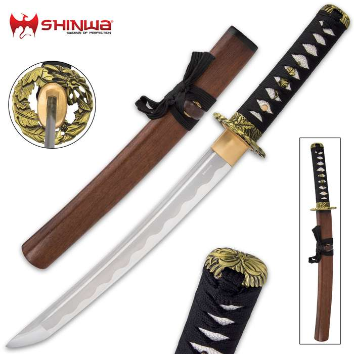 You know that unsurpassed quality is the standard for all Shinwa swords, and this tanto is no exception to that standard