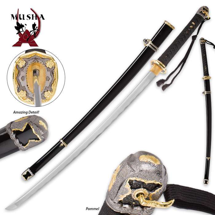 Musha Hand-Forged Japanese Military Sword