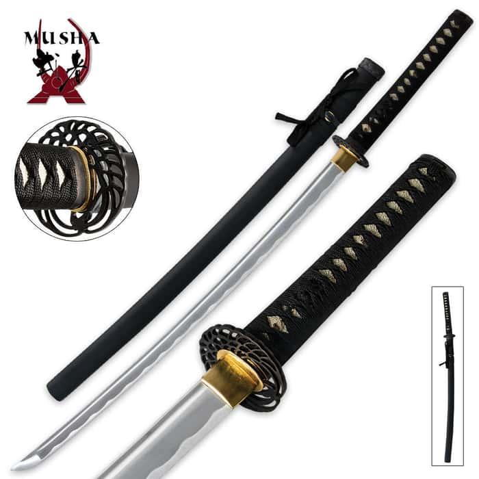Samurai Special Full-Tang Crane Katana Sword