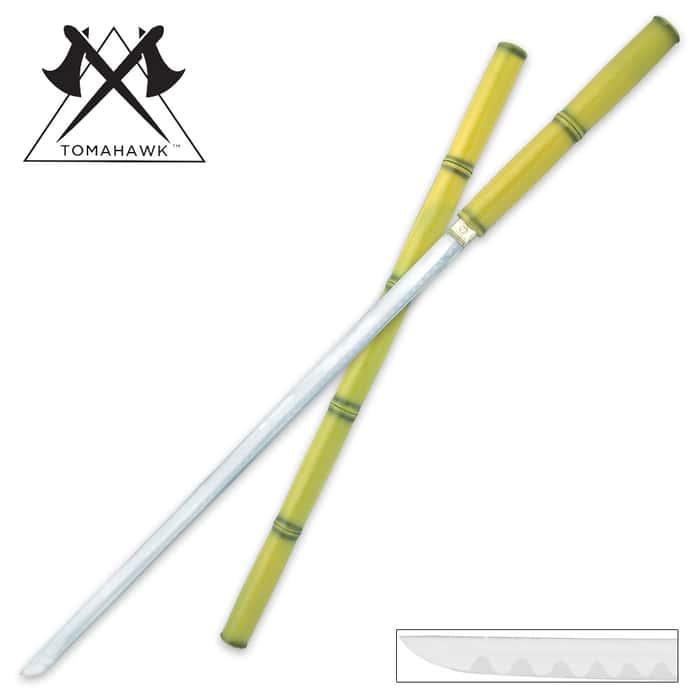 Bamboo Zatoichi Ninja Sword