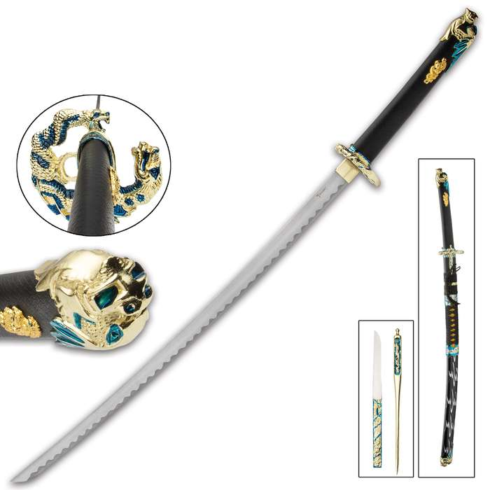 Paying respects to one of feudal Japan's greatest Samurai warriors, Oda Nabunga, this katana is an exquisite weapon