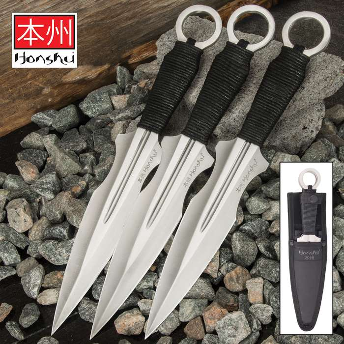 Always expanding its armory with something exceptional, Honshu presents a kunai set you're going to want to add to your armory