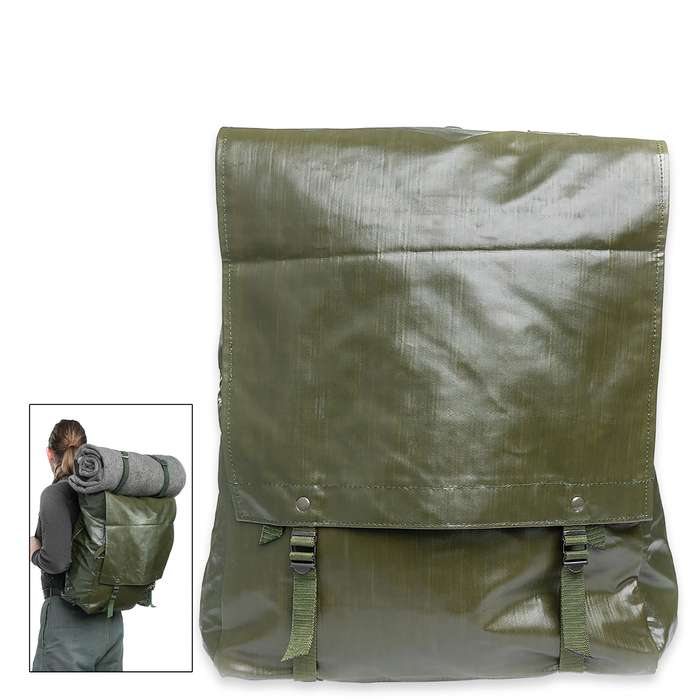 The Czech M85 Rucksack is a military surplus bag that's perfect for the range, class or work