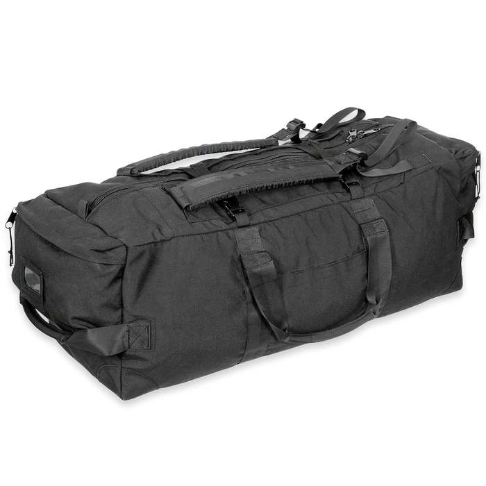 This military surplus pack is massive, giving you plenty of space to pack everything you need whether for a trip or a mission