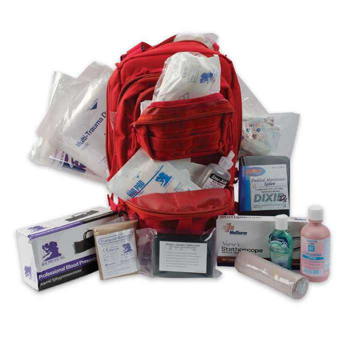 Elite Tactical Trauma Kit Number3 Red