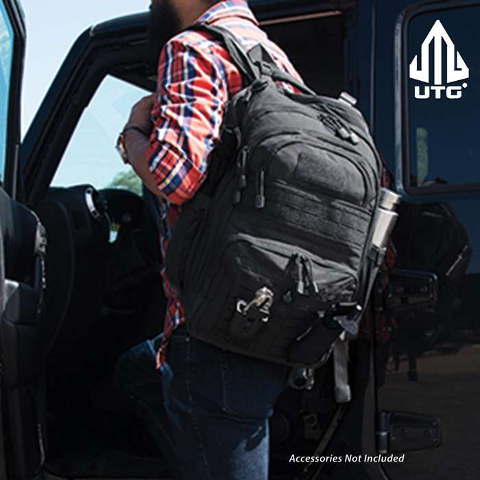 The optimized space saving compartments, pockets and overall layout give you quick access to the things you need