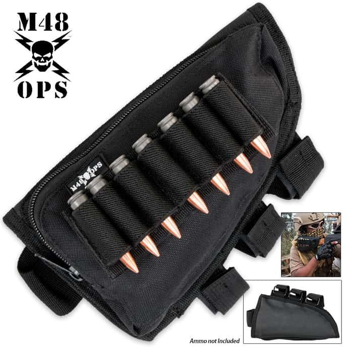 M48 Ops Butt Stock Cheek Rest Rifle