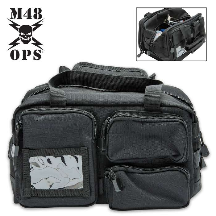 Taking the traditional military mechanic's tool bag to a whole new level, it has lots of organized space to store your gear