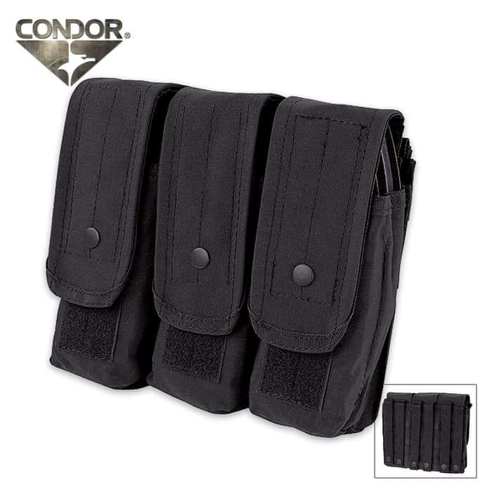 Condor Triple AR - AK Mag Pouch