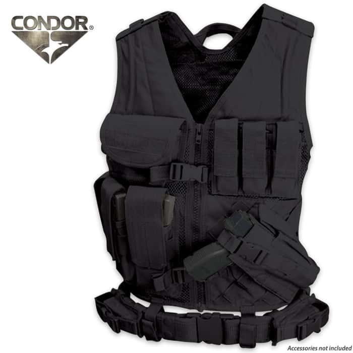 Condor Outdoor Cross Draw Vest