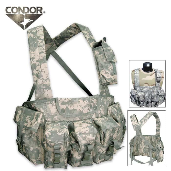 Condor Outdoor 7 Pocket Chest Rig