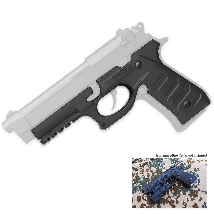 Beretta 92 Series Recover BC2 Grip and Rail System