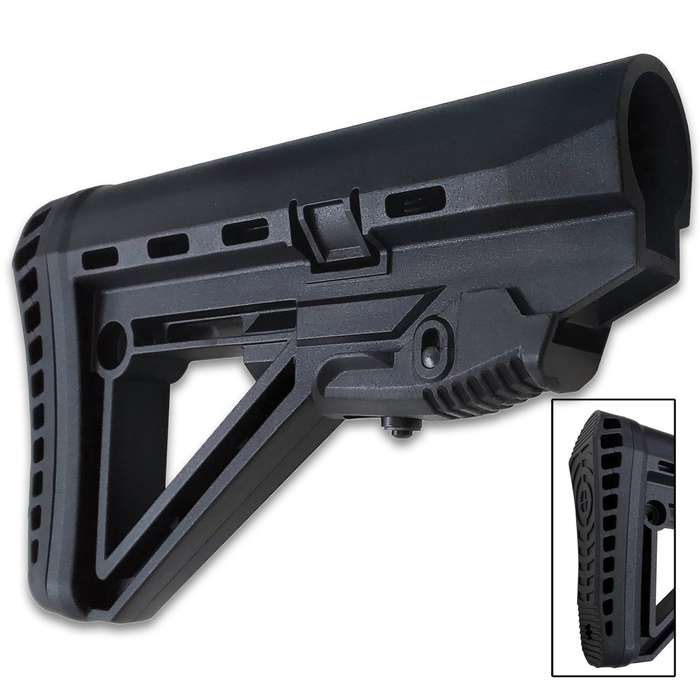 Want to upgrade to something with a little more comfort and style? That is exactly what you will find in the new XTS Enhanced Collapsible AR Stock